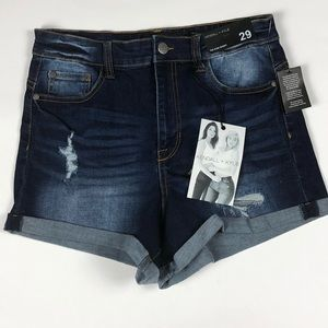 NWT Kendall + Kylie Icon Distressed Short